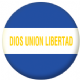 El Salvador State Flag 58mm Button Badge